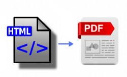 HTML2PDF Models