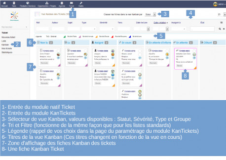 KanTickets (Tickets Kanban views for Dolibarr)