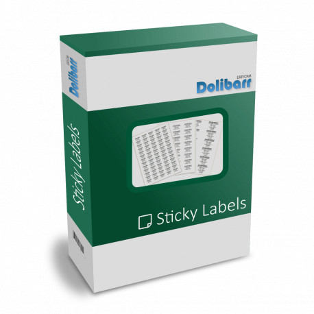 Planches étiquettes