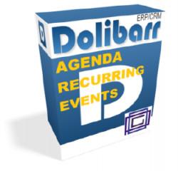 Eventos recurrentes en la agenda