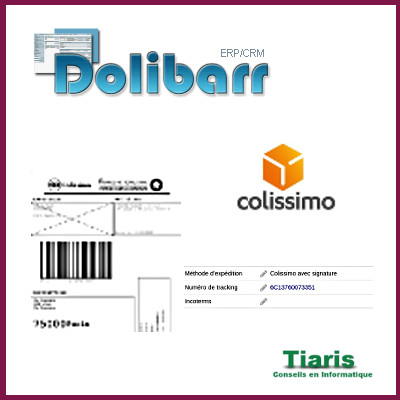 Shippinglabels for Colissimo