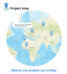 Projectkaarten en geolocatie 6.0.0 - 13.0.0