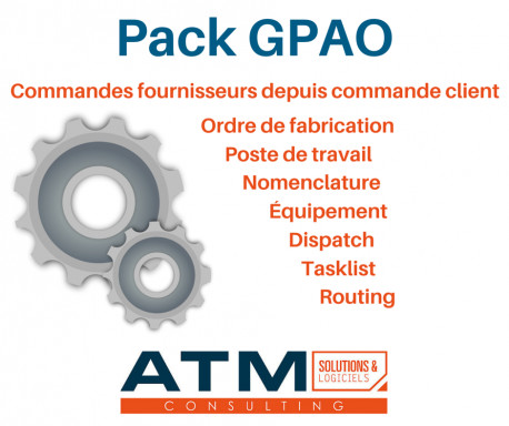 Pack GPAO pour Dolibarr 3.8.0 - 11.0.x