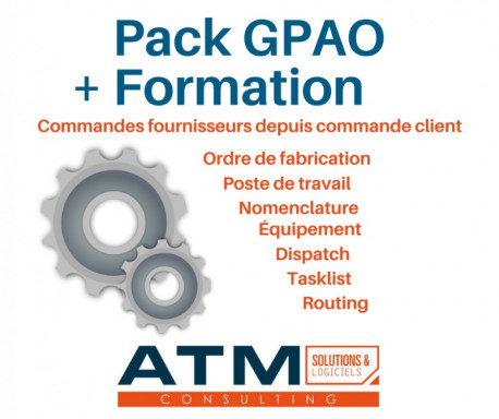 Pack GPAO pour Dolibarr + Formation 3.8.0 - 10.0.x