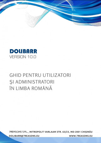 The Dolibarr User & Admin Book (Romanian)