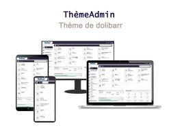 Responsive Admin Theme für Dolibarr 6.0.0 - 13.0.0
