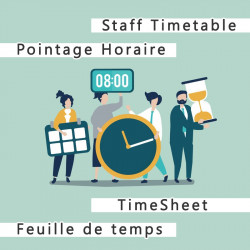 Staff Timetable and timesheet 6.0.0 -