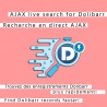 Ajax Live Data Search para Dolibarr 6.0.0 - 12.0.0