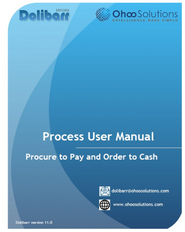 Dolibarr - Combo Training Document (Procure to Pay + Order to Cash)