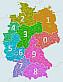 Postleitzahlen (PLZ) Deutschland