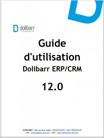 Dolibarr The Book 12.0 (French version)