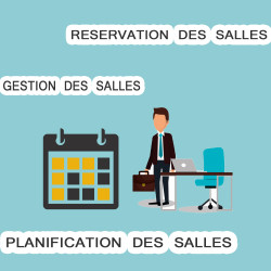 Gestión, reserva y planificación de salas