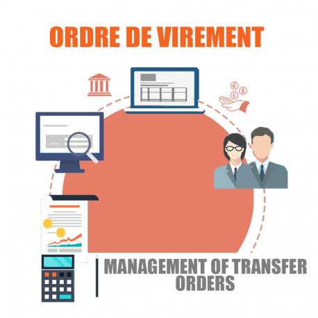 Management of transfer orders and payslip
