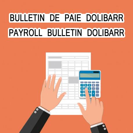 Bulletin de Paie Dolibarr 6.0.0 - 12.0.3