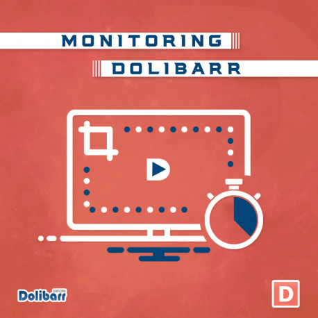 Monitoring module for Dolibarr 6.0.0 - 12.0.3