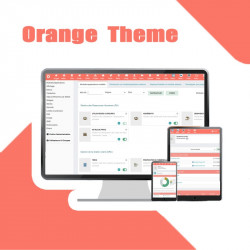 OrangeTheme - Tema creativo de Dolibarr 13.0.0