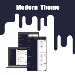 Tema moderno de Dolibarr 12.0.*