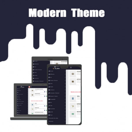 Thème Moderne de Dolibarr 12.0.*