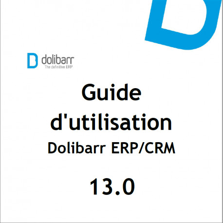 Dolibarr The Book 13.0 (French version)