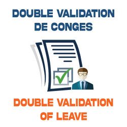 DOUBLE VALIDATION OF LEAVE