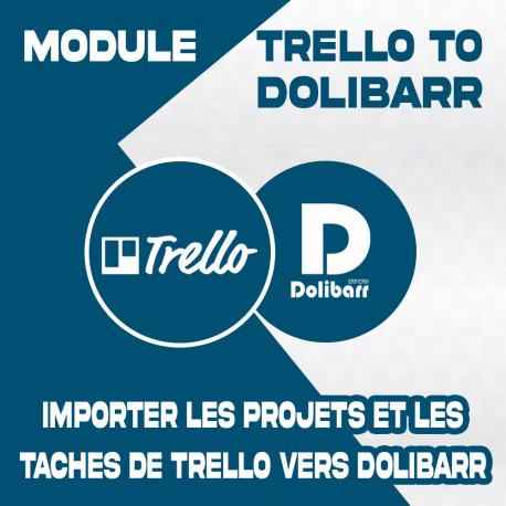 Module Trello to Dolibarr