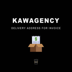 Delivery address for invoice