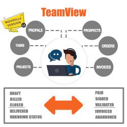 Módulo TeamView Kanban para Dolibarr V2