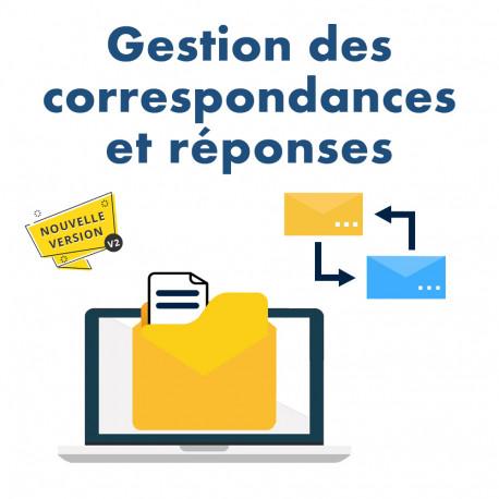 Correspondence management module for Dolibarr v2