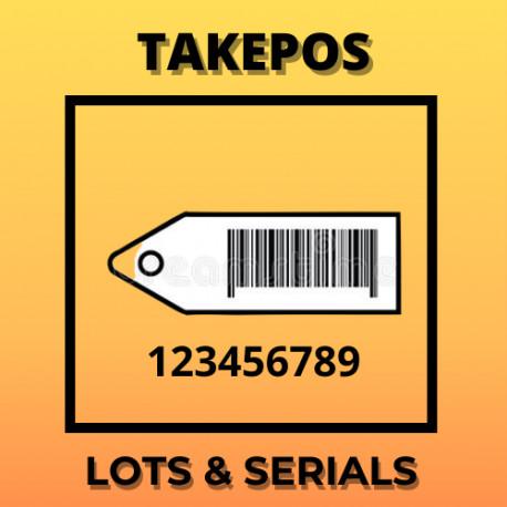 TakePOS Lotes y números de serie