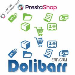 Prestashop - Dolibarr Synchronization Connector (CyberOffice)