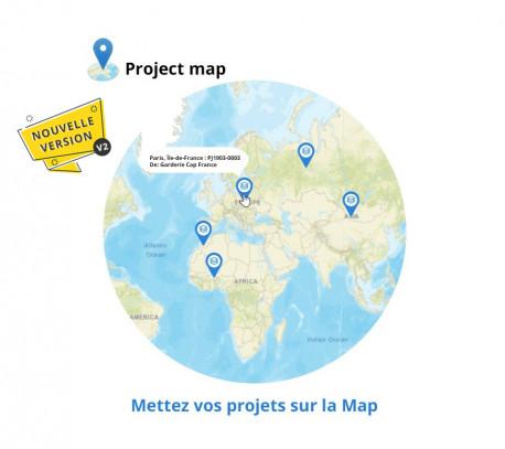 Mappe di progetto e geolocalizzazione V2