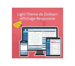 Light Theme de Dolibarr V2