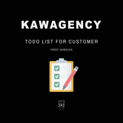 Todo list for customer - Free version