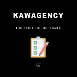 Todo list for customer