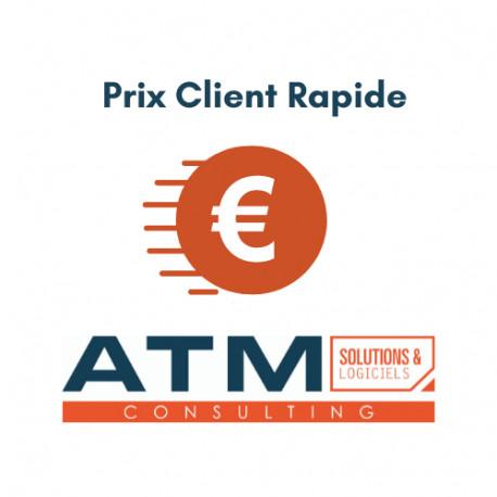 Prix Client Rapide 3.8.x - 12.0.x