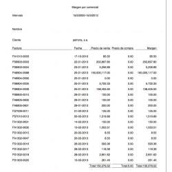 Report commercial margin 3.4