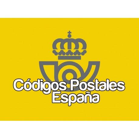 Code postaux Espagne 3.4
